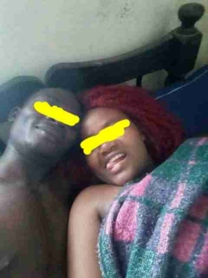 After S*x Photos Of Kenyan Man And His Girlfriend Trend On Facebook. Users React